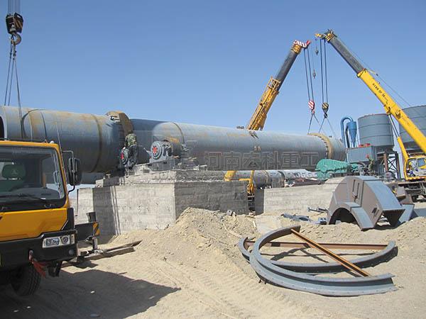 江西高安2条1.6×30米钨酸钠回转窑