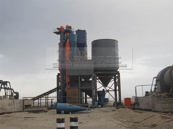 新疆库尔勒3*60米环保石灰回转窑生产线业绩