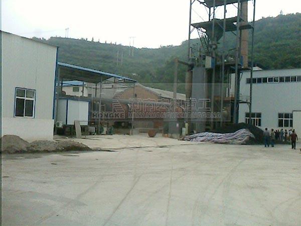 洛阳陶粒砂回转窑生产线
